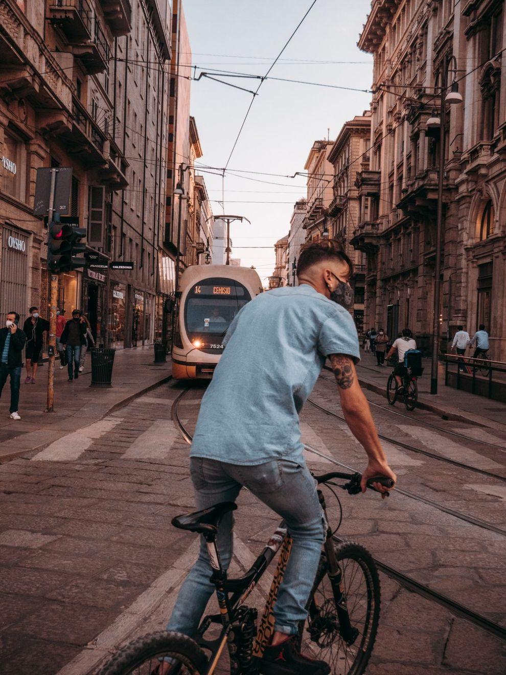 Ποδήλατο στο Μιλάνο