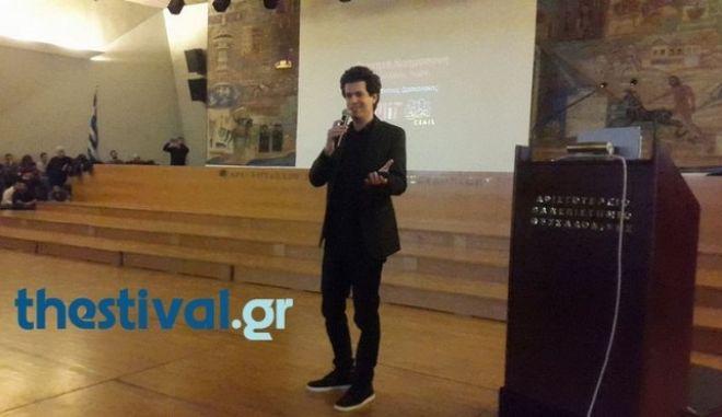 Κ. Δασκαλάκης: Κατάμεστο το ΑΠΘ για τη διάλεξη του Έλληνα καθηγητή του ΜΙΤ