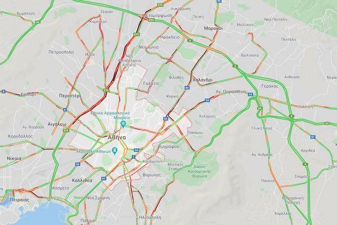 Κίνηση στους δρόμους: Νέα ταλαιπωρία για τους οδηγούς – Πού υπάρχουν προβλήματα