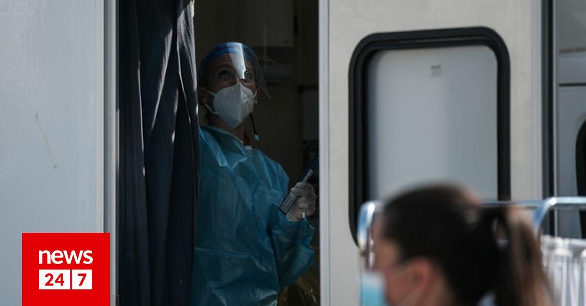 Κορονοϊός: 2422 νέα κρούσματα στην Ελλάδα, 63 θάνατοι και ρεκόρ με 443 διασωληνωμένους – Υγεία