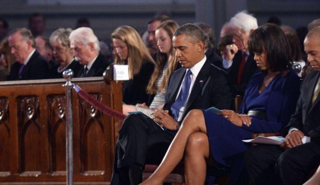 """Ο Ομπάμα στη Βοστώνη: """"Οι ένοχοι θα βρεθούν και θα προσαχθούν"""""""