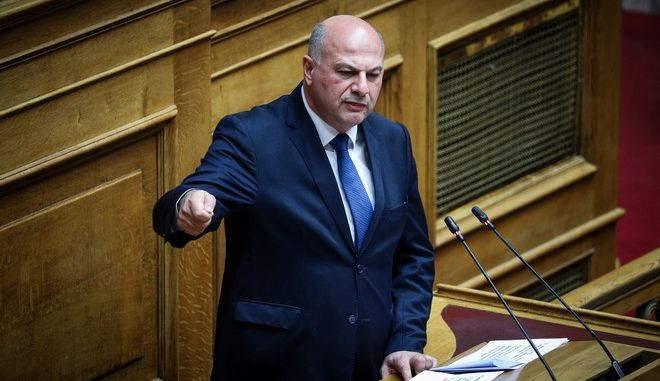 Ο νέος υπουργός Δικαιοσύνης, Κώστας Τσιάρας
