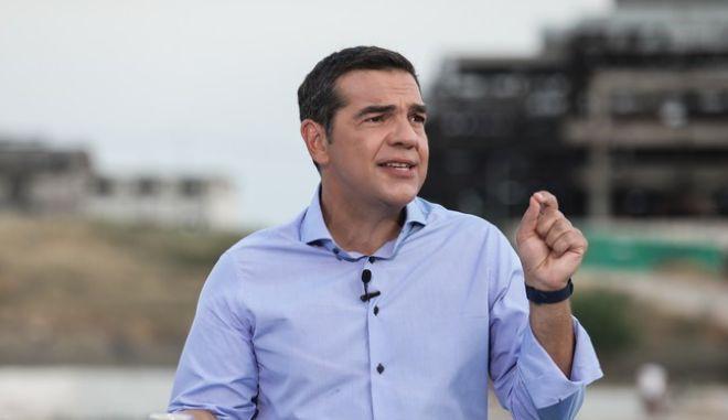 Ο πρόεδρος του ΣΥΡΙΖΑ-ΠΣ, Αλέξης Τσίπρας