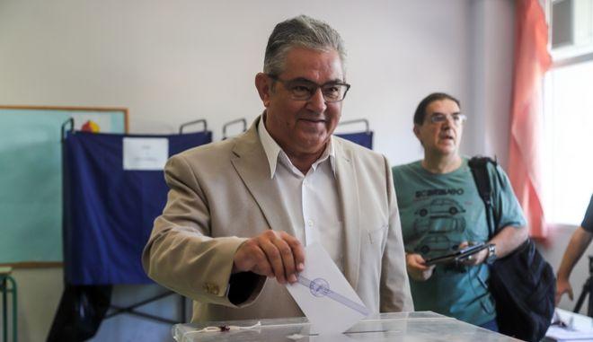 Κουτσούμπας: Σήμερα ψηφίζουμε για να είμαστε πιο δυνατοί