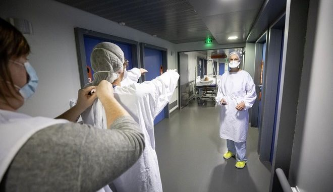 Ιατρικό προσωπικό στη Γαλλία