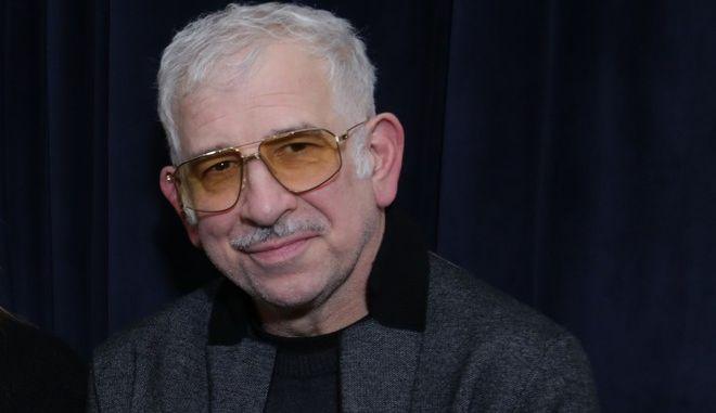 Ο σκηνοθέτης και ηθοποιός Πέτρος Φιλιππίδης