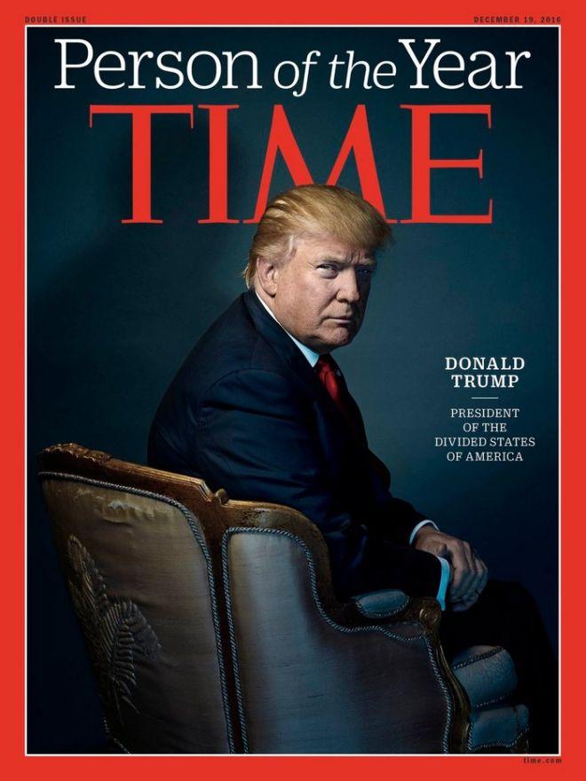Τραμπ: Το περιοδικό Time ίσως να με επέλεγε 'πρόσωπο της χρονιάς', αλλά αρνήθηκα