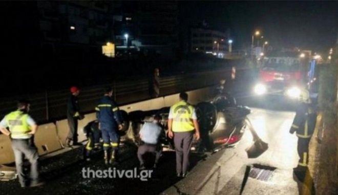 Θεσσαλονίκη: Νεκρός στο τροχαίο με τους μετανάστες και ο Γεωργιανός διακινητής