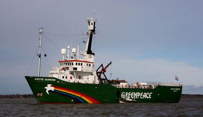 Ρωσία: Επέμβαση των ρωσικών αρχών σε πλοίο της Greenpeace