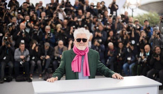 Ο Πέδρο Αλμοδόβαρ στο 72ο φεστιβάλ Καννών