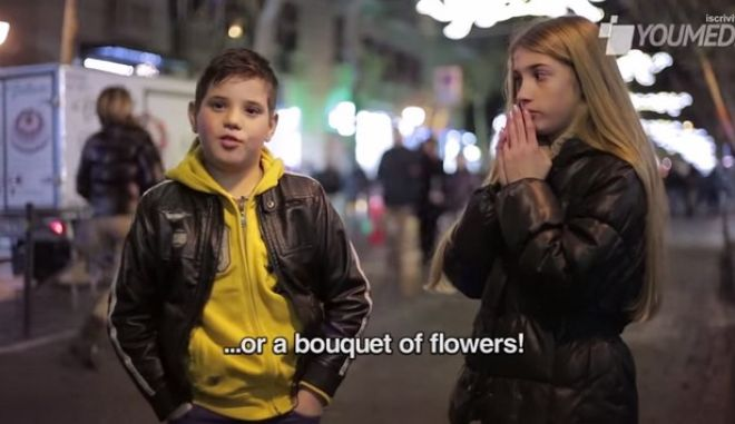Εκπληκτικό βίντεο: Η αντίδραση μικρών αγοριών όταν τους ζητούν να χαστουκίσουν ένα κορίτσι
