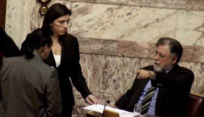 'Άδειασμα' και εσωκομματική κόντρα Πανούση - Κωνσταντοπούλου