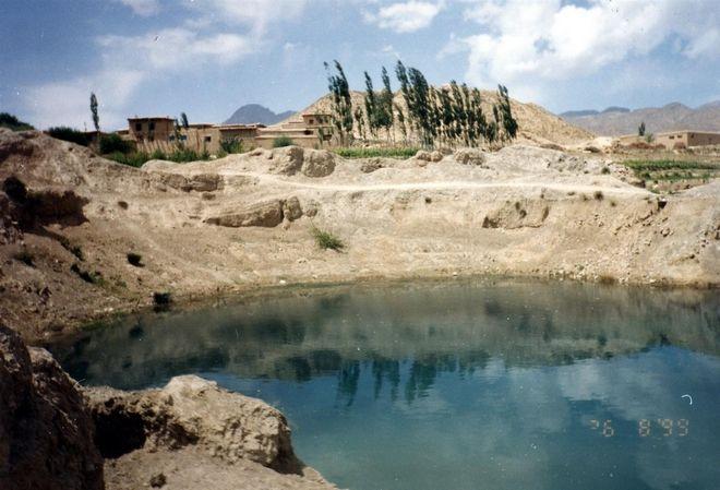Ασημένια λίμνη που χρονολογείται
