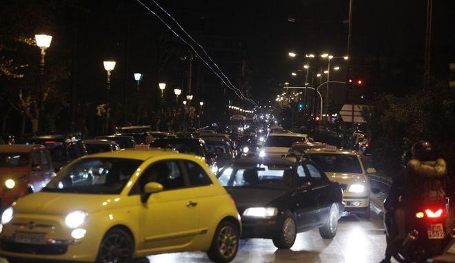 Κίνηση στους δρόμους της Αθήνας