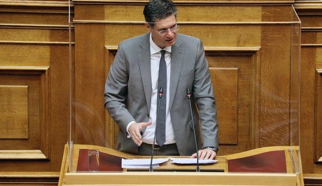 Ο Βουλευτής Ηλείας ΣΥΡΙΖΑ, Διονύσης-Χαράλαμπος Καλαματιανός