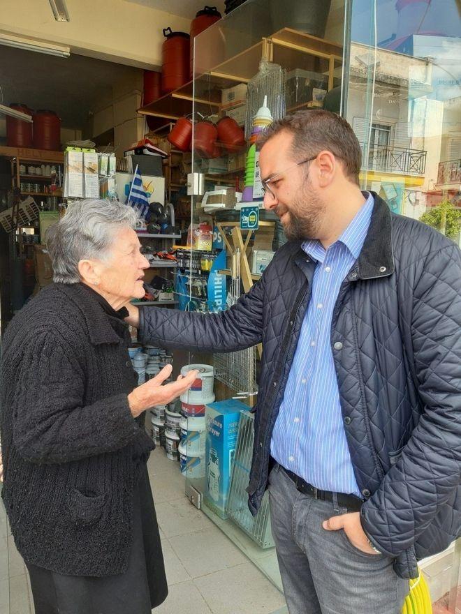 Νεκτάριος Φαρμάκης: Όλοι μαζί θα αλλάξουμε τον τόπο μας