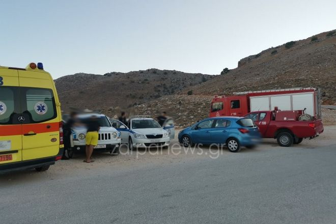 Χανιά: Γαλλίδα τουρίστρια έπεσε στα βράχια και τραυματίστηκε