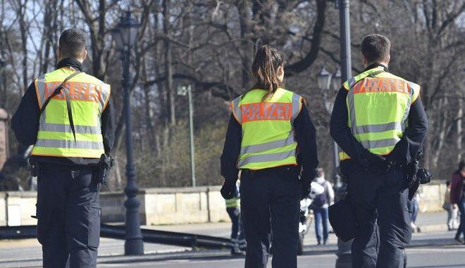 Δυνάμεις της γερμανικής αστυνομίας στο Βερολίνο