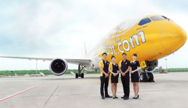 Scoot: Η μεγαλύτερη low cost πτήση στον πλανήτη ξεκινάει από την Αθήνα