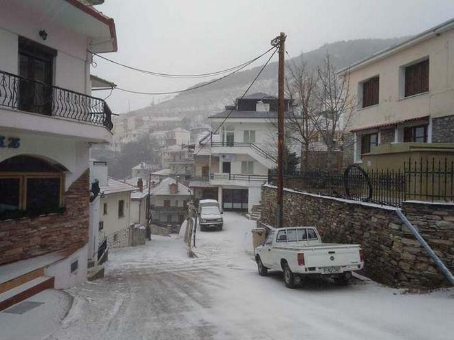 Κύμα χιονιά στην κεντρική και βόρεια Ελλάδα