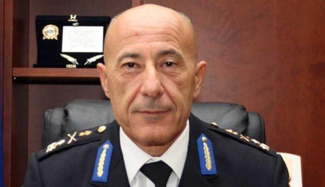 Ο Εθνικός Διοικητής Πολιτικής Προστασίας Βασίλης Παπαγεωργίου.