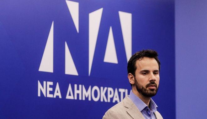 Ο αναπληρωτής εκπρόσωπος Τύπου της Νέας Δημοκρατίας Νίκος Ρωμανός