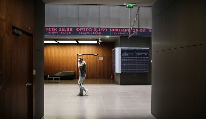 Stock Market crash following the BRexit results, in Athens Stock Exchange, on June 24, 2016 /             BRexit,   ,  24 , 2016