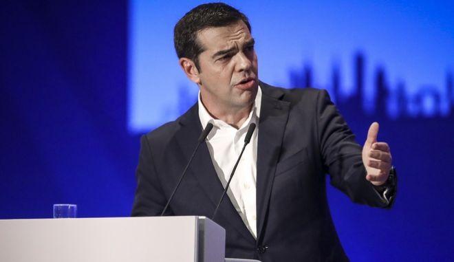 """Ομιλία του Πρωθυπουργού Αλέξη Τσίπρα, στην τελετή εγκαινίων της 83ης ΔΕΘ, στο Συνεδριακό Κέντρο """"Ιωάννης Βελλίδης"""", στην Θεσσαλονίκη"""