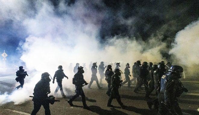 Αστυνομία στη Μινεάπολη