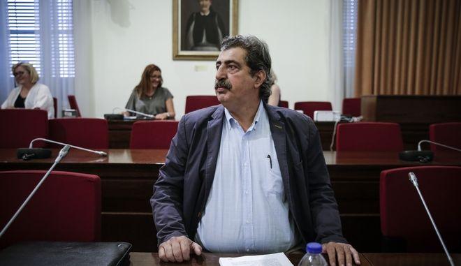 Ο αν. υπουργός Υγείας Παύλος Πολάκης