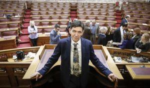 Εκδήλωση στην αίθουσα της Γερουσίας της Βουλής στα πλαίσια της Παγκόσμιας ημέρας θεάτρου, Τρίτη 27/3/2018. (EUROKINISSI/ΚΟΝΤΑΡΙΝΗΣ ΓΙΩΡΓΟΣ)