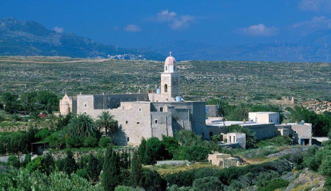 Kloster Moni Toplou bei Palekastro, Insel Kreta, Griechenland