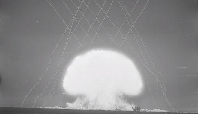 Ανατριχίλα: Στο φως για πρώτη φορά βίντεο των πρώιμων πυρηνικών δοκιμών των ΗΠΑ
