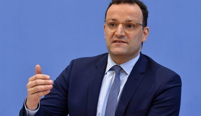 Ο Γερμανός Υπουργός Υγείας, Γενς Σπαν
