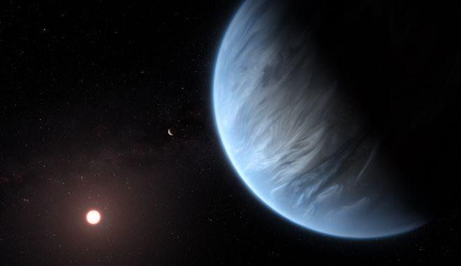 Σημαντική ανακάλυψη: Εντοπίστηκε νερό σε πιθανώς κατοικήσιμο εξωπλανήτη