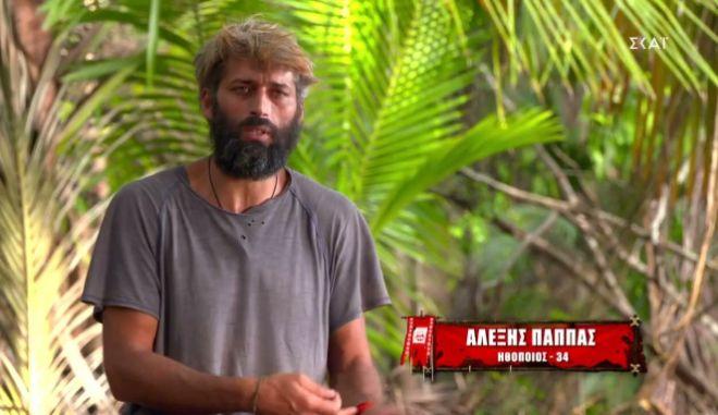 Survivor 4: Βρισιές και χαρακτηρισμοί πεζοδρομίου του Αλέξη για τον Τζέιμς