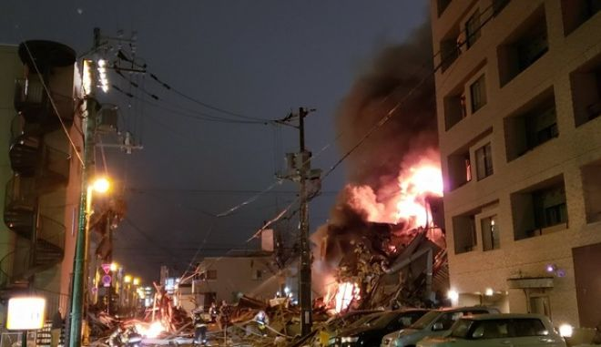 Ιαπωνία: Έκρηξη σε εστιατόριο - Τουλάχιστον 40 τραυματίες