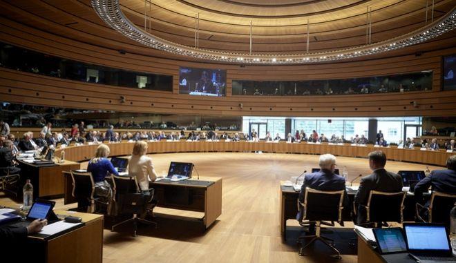 Εργασίες του Συμβουλίου Εξωτερικών Υποθέσεων (Foreign Affairs Council - FAC), υπό την προεδρία της Υπάτης Εκπροσώπου της ΕΕ για την Εξωτερική Πολιτική και Πολιτική Ασφάλειας, Φεντερίκα Μογκερίνι.