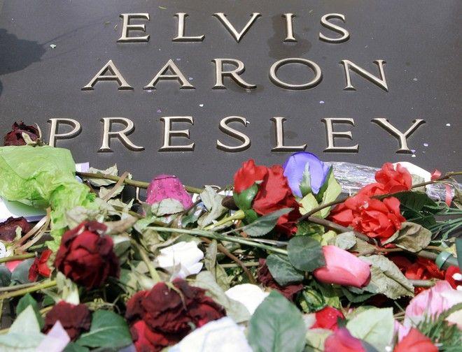Ο τάφος του Έλβις Πρίσλεϋ