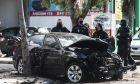 Τροχαίο ατύχημα επί της οδού Λιοσίων στην Αθήνα