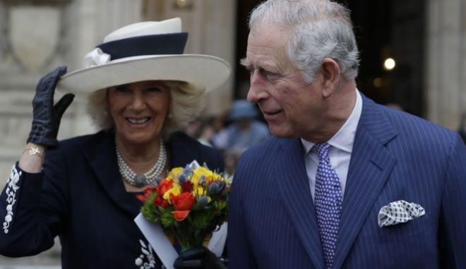Ο διάδοχος του βρετανικού θρόνου Κάρολος και η Δούκισσα της Κορνουάλης, Καμίλα