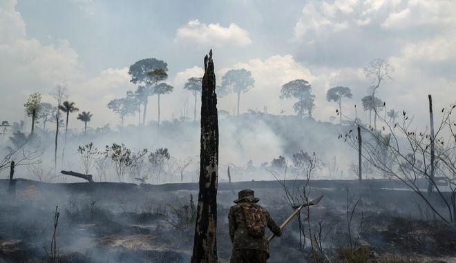 Φωτιά στον Αμαζόνιο