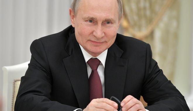 Ο Ρώσος Πρόεδρος.