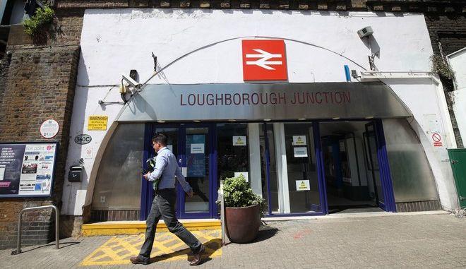 Ο σιδηροδρομικός σταθμός Loughborough Junction στο νότιο Λονδίνο
