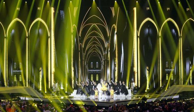 Εικόνα από την Eurovision του 2019 στο Τελ Αβίβ