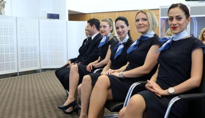 Η COBALT, ο νέος αερομεταφορέας της Κύπρου πραγματοποίησε σήμερα διάσκεψη τύπου ανακοινώνοντας την άφιξη του πρώτου αεροσκάφους της εταιρείας και του πτητικού της προγράμματος, Λευκωσία 15 Απριλίου 2016.ΚΥΠΕ/ΚΑΤΙΑ ΧΡΙΣΤΟΔΟΥΛΟΥ
