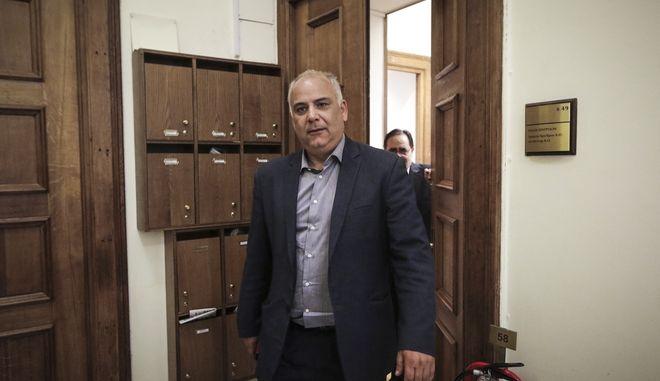 Ο Βουλευτής της Ενωσης Κεντρώων, Γιάννης Σαρίδης
