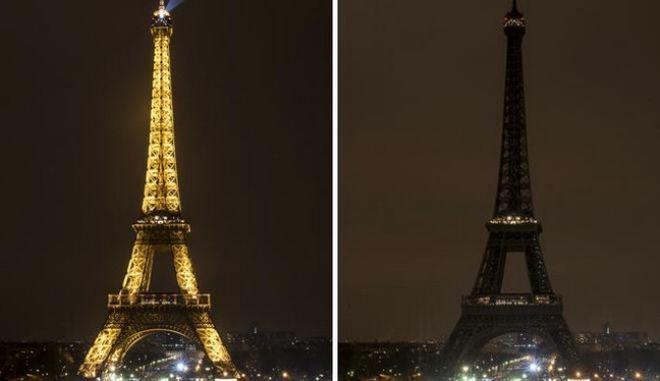 Ο Πύργος του Άιφελ.