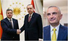 Τριπλό μέτωπο με Τουρκία, Αλβανία και Σκόπια