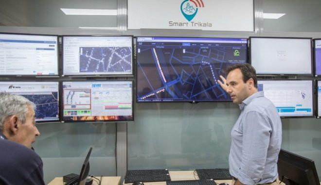 """Δημήτρης Παπαστεργίου στο Business Monitor: Έτσι έγιναν τα Τρίκαλα ένα ελληνικό """"καλό παράδειγμα"""" έξυπνης πόλης"""